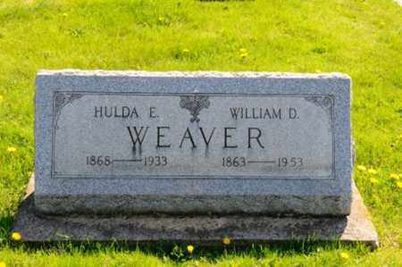 WEAVER, HULDA E. - Wayne County, Ohio | HULDA E. WEAVER - Ohio Gravestone Photos