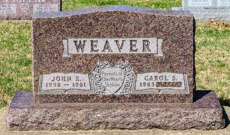 WEAVER, JOHN E - Wayne County, Ohio | JOHN E WEAVER - Ohio Gravestone Photos