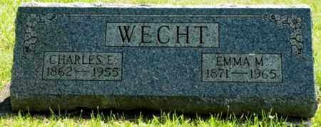 STAUFFER WECHT, EMMA M. - Wayne County, Ohio | EMMA M. STAUFFER WECHT - Ohio Gravestone Photos