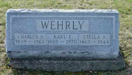 WEHRLY, CHARLES A. - Wayne County, Ohio | CHARLES A. WEHRLY - Ohio Gravestone Photos