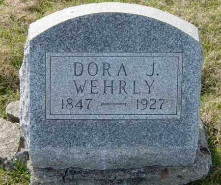 WEHRLY, DORA J. - Wayne County, Ohio | DORA J. WEHRLY - Ohio Gravestone Photos