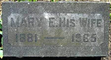 WEIMER, MARY E. - Wayne County, Ohio | MARY E. WEIMER - Ohio Gravestone Photos
