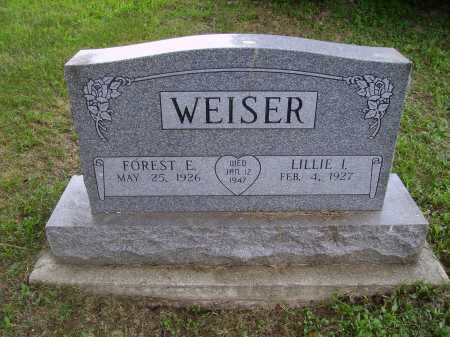 WEISER, LILLIE I. - Wayne County, Ohio | LILLIE I. WEISER - Ohio Gravestone Photos