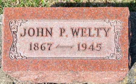WELTY, JOHN P - Wayne County, Ohio | JOHN P WELTY - Ohio Gravestone Photos