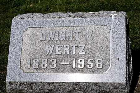WERTZ, DWIGHT E. - Wayne County, Ohio | DWIGHT E. WERTZ - Ohio Gravestone Photos