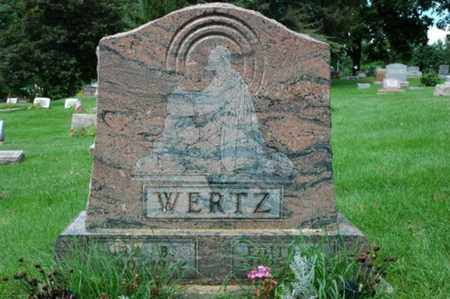 WERTZ, EDITH ELIZABETH - Wayne County, Ohio | EDITH ELIZABETH WERTZ - Ohio Gravestone Photos