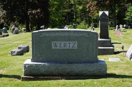 WERTZ, DWIGHT ELMORE - Wayne County, Ohio | DWIGHT ELMORE WERTZ - Ohio Gravestone Photos