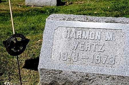 WERTZ, HARMON M. - Wayne County, Ohio | HARMON M. WERTZ - Ohio Gravestone Photos