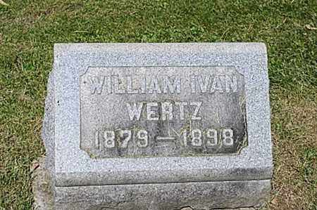 WERTZ, WILLIAM IVAN - Wayne County, Ohio | WILLIAM IVAN WERTZ - Ohio Gravestone Photos