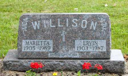 WILLISON, MARIETTA - Wayne County, Ohio | MARIETTA WILLISON - Ohio Gravestone Photos