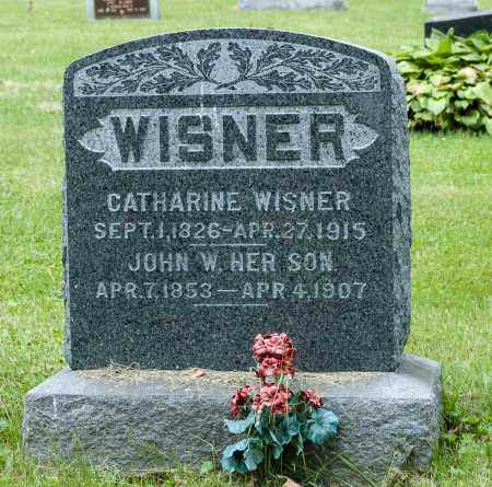 WISNER, CATHARINE - Wayne County, Ohio | CATHARINE WISNER - Ohio Gravestone Photos