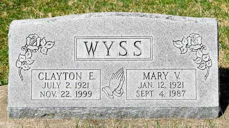 WYSS, CLAYTON E - Wayne County, Ohio | CLAYTON E WYSS - Ohio Gravestone Photos