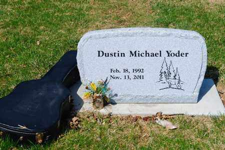 YODER, DUSTIN MICHAEL - Wayne County, Ohio | DUSTIN MICHAEL YODER - Ohio Gravestone Photos
