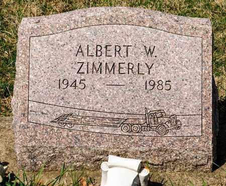 ZIMMERLY, ALBERT W - Wayne County, Ohio | ALBERT W ZIMMERLY - Ohio Gravestone Photos