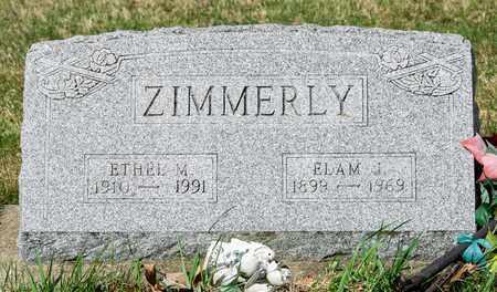 ZIMMERLY, ETHEL M - Wayne County, Ohio | ETHEL M ZIMMERLY - Ohio Gravestone Photos