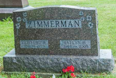 ZIMMERMAN, EVELYN H. - Wayne County, Ohio | EVELYN H. ZIMMERMAN - Ohio Gravestone Photos