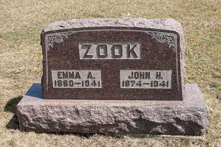ZOOK, JOHN HENRY - Wayne County, Ohio | JOHN HENRY ZOOK - Ohio Gravestone Photos