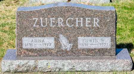 ZUERCHER, EDWIN W - Wayne County, Ohio | EDWIN W ZUERCHER - Ohio Gravestone Photos