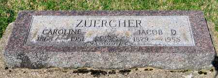 ZUERCHER, JACOB D - Wayne County, Ohio | JACOB D ZUERCHER - Ohio Gravestone Photos