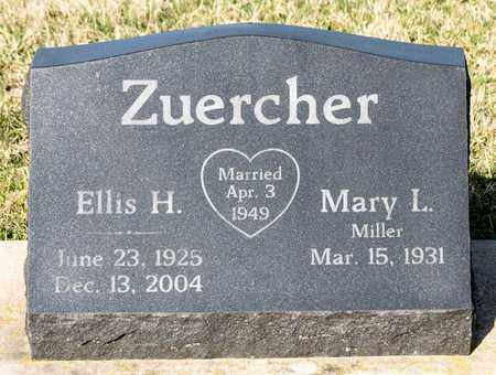 ZUERCHER, ELLIS H - Wayne County, Ohio | ELLIS H ZUERCHER - Ohio Gravestone Photos
