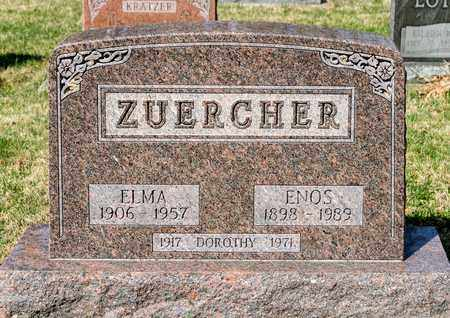 ZUERCHER, DOROTHY - Wayne County, Ohio | DOROTHY ZUERCHER - Ohio Gravestone Photos