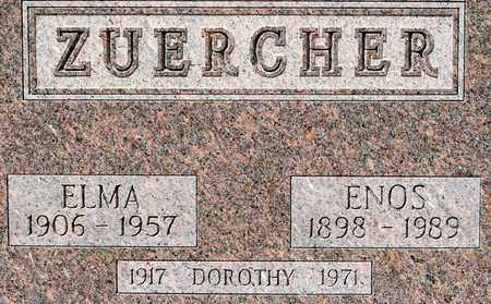 ZUERCHER, ENOS - Wayne County, Ohio | ENOS ZUERCHER - Ohio Gravestone Photos