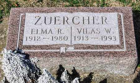 ZUERCHER, VILAS W - Wayne County, Ohio | VILAS W ZUERCHER - Ohio Gravestone Photos