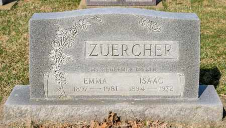 ZUERCHER, EMMA - Wayne County, Ohio | EMMA ZUERCHER - Ohio Gravestone Photos