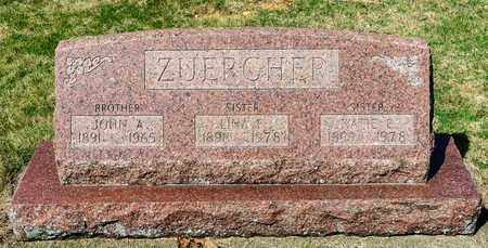 ZUERCHER, KATIE E - Wayne County, Ohio | KATIE E ZUERCHER - Ohio Gravestone Photos