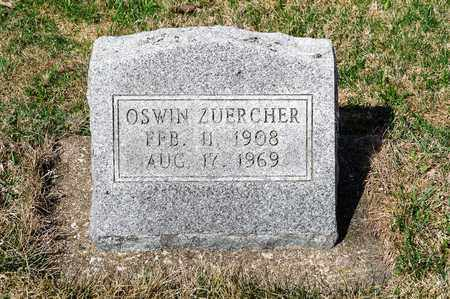 ZUERCHER, OSWIN - Wayne County, Ohio | OSWIN ZUERCHER - Ohio Gravestone Photos