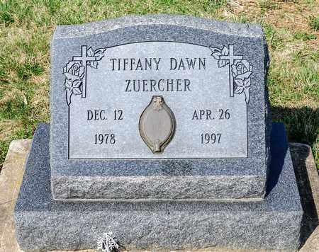 ZUERCHER, TIFFANY DAWN - Wayne County, Ohio | TIFFANY DAWN ZUERCHER - Ohio Gravestone Photos