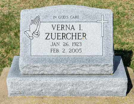 ZUERCHER, VERNA I - Wayne County, Ohio | VERNA I ZUERCHER - Ohio Gravestone Photos