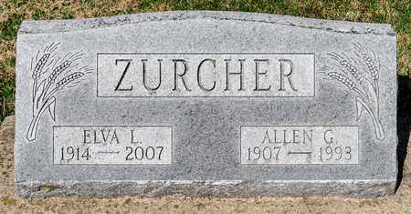 ZURCHER, ALLEN G - Wayne County, Ohio | ALLEN G ZURCHER - Ohio Gravestone Photos