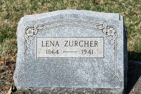 ZURCHER, LENA - Wayne County, Ohio | LENA ZURCHER - Ohio Gravestone Photos
