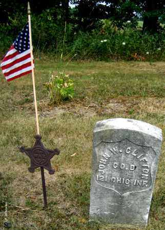 CLIFTON, JOHN W. - Williams County, Ohio | JOHN W. CLIFTON - Ohio Gravestone Photos