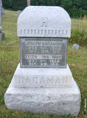 COOK HAGAMAN, ELIZA - Williams County, Ohio | ELIZA COOK HAGAMAN - Ohio Gravestone Photos