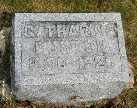 HUSTON, CATHARINE - Williams County, Ohio | CATHARINE HUSTON - Ohio Gravestone Photos