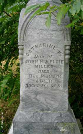 MILLER, CATHERINE K. - Williams County, Ohio | CATHERINE K. MILLER - Ohio Gravestone Photos