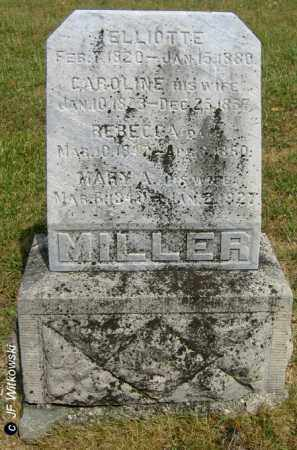 MILLER, REBECCA - Williams County, Ohio | REBECCA MILLER - Ohio Gravestone Photos