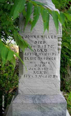MILLER, JOHN H. - Williams County, Ohio | JOHN H. MILLER - Ohio Gravestone Photos