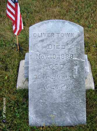 TOWN, OLIVER - Williams County, Ohio | OLIVER TOWN - Ohio Gravestone Photos