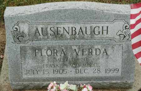 AUSENBAUGH, FLORA VERDA - Wood County, Ohio | FLORA VERDA AUSENBAUGH - Ohio Gravestone Photos