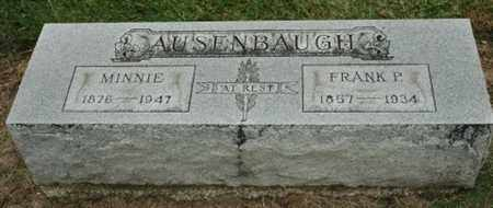 AUSENBAUGH, FRANK P. - Wood County, Ohio | FRANK P. AUSENBAUGH - Ohio Gravestone Photos