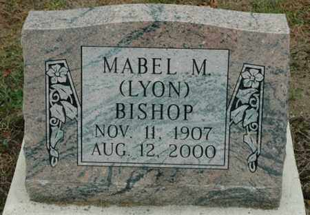 LYON BISHOP, MABEL M. - Wood County, Ohio | MABEL M. LYON BISHOP - Ohio Gravestone Photos