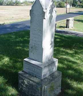 GROVER, SARAH A. - Wood County, Ohio | SARAH A. GROVER - Ohio Gravestone Photos
