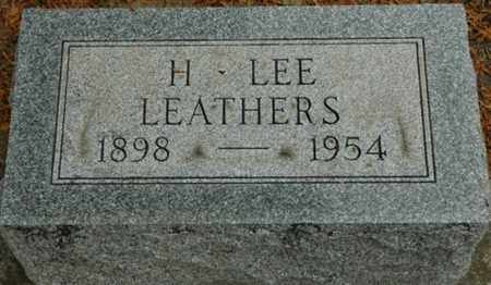 LEATHERS, HENRY LEE - Wood County, Ohio | HENRY LEE LEATHERS - Ohio Gravestone Photos