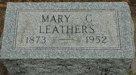 FREYMAN LEATHERS, MARY C. - Wood County, Ohio | MARY C. FREYMAN LEATHERS - Ohio Gravestone Photos