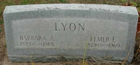 LYON, ELMER E. - Wood County, Ohio | ELMER E. LYON - Ohio Gravestone Photos