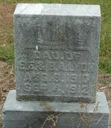 LYON, RUTH MARY - Wood County, Ohio   RUTH MARY LYON - Ohio Gravestone Photos