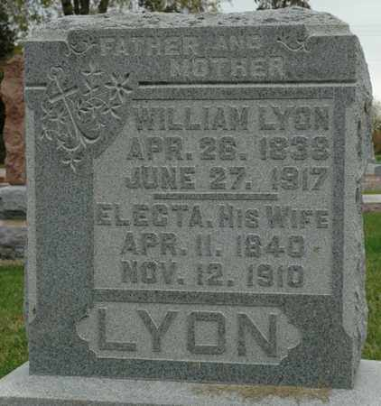 LYON, WILLIAM - Wood County, Ohio | WILLIAM LYON - Ohio Gravestone Photos